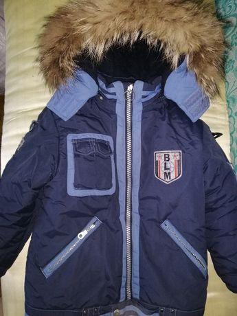Зимняя курточка для мальчика