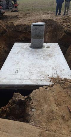 Zbiornik betonowy ,solidny, szczelny 12m3- MASYWNE na gnojowice szambo
