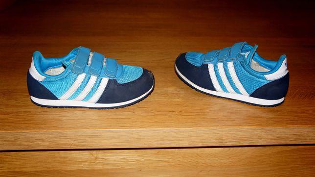 Adidasy niebieskie ADIDAS rozmiar 32, długość wkładki 21,5cm