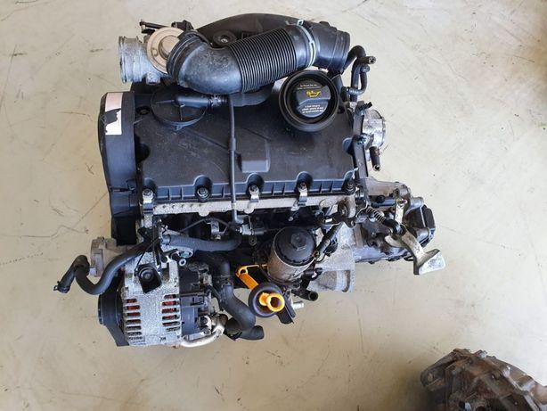 Motor Volkswagen 1.9 TDI 2005 de 105cv, ref BJB