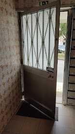 Porta de entrada prédio