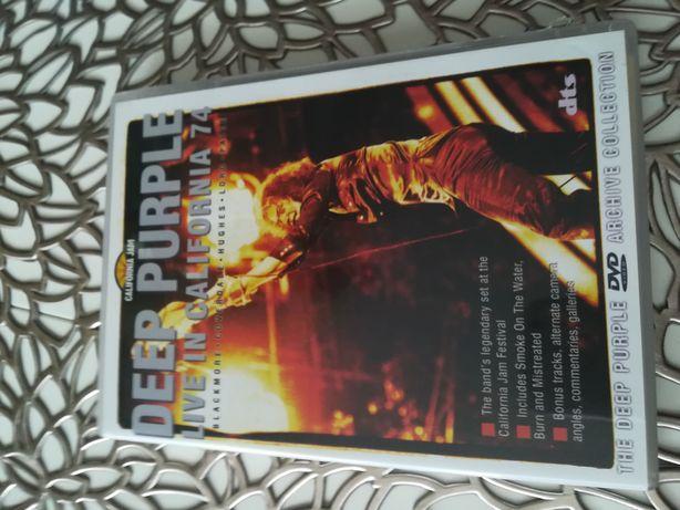 Deep Purple Live in California 74 dvd
