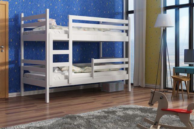Sosnowe łóżko dla dzieci Nela Slim 2 osobowe materace gratis !