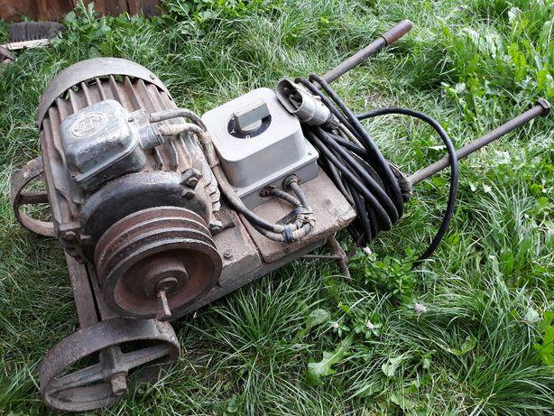 Silnik trójfazowy 7,5KW z wózkiem