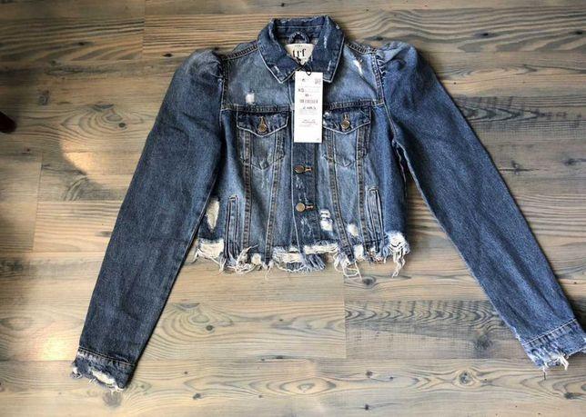 Куртка новая Джинсовка Zara
