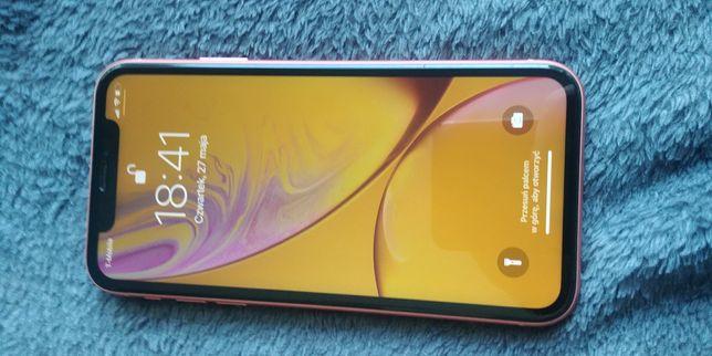 Iphone XR/KORAL/gwarancja/ kupiony w RTV