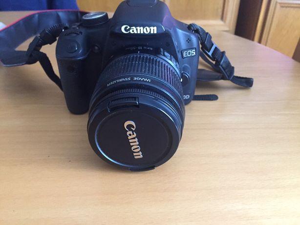 Aparat Canon EOS 500D + dodatkowy obiektyw i etui