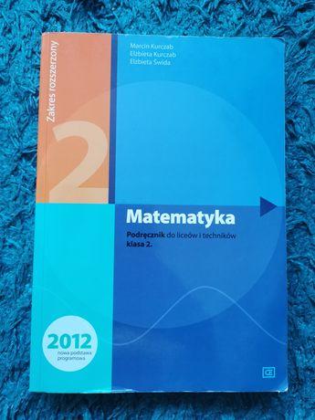 Matematyka poziom rozszerzony klasa 2 podręcznik