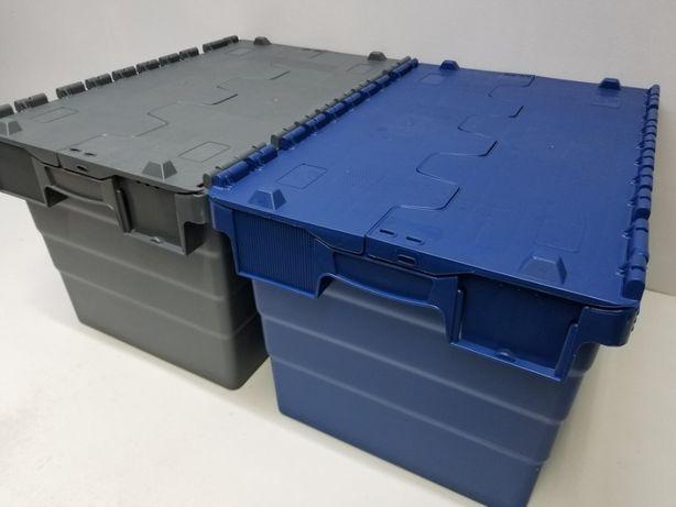 Pojemnik Kurierski Transportowy Magazynowy Skrzynka Plastik 60x40x32cm