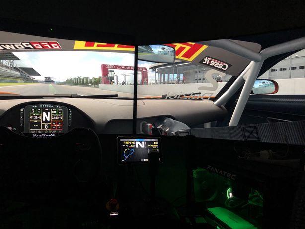 Simulador setup corrida fanatec aceito trocas
