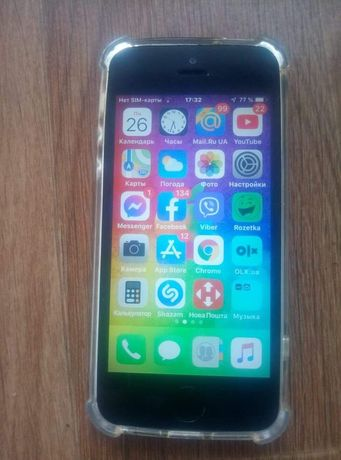 iPhone 5s 16gb серым цветом
