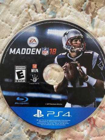 Диск NFL 18 Ps4 play station 4