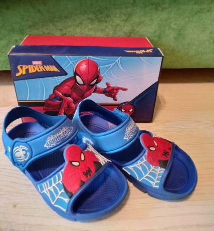 Sandały chłopięce Spiderman r.28