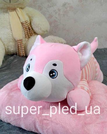 Плед іграшка собачка
