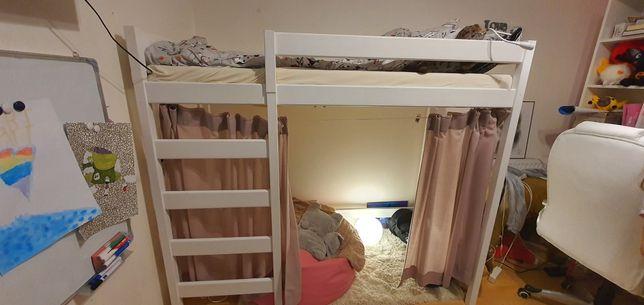 Łóżko piętrowe 180x80 z materacem