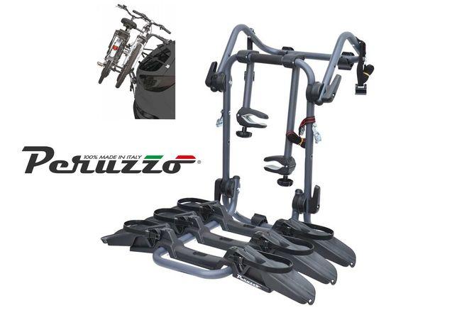Bagażnik na klapę tylną PERUZZO Pure Instinct składany na 3 rowery