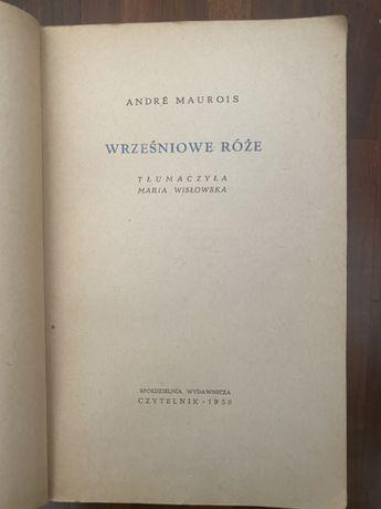 Wrześniowe róże - Andre Maurois