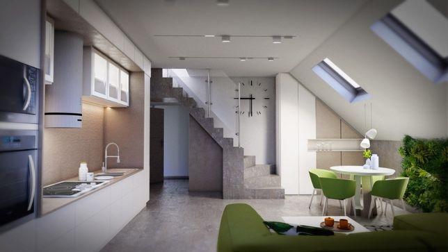 Sprzedam Mieszkanie - Pabianice 44,05m2 deweloperskie - dwa poziomy