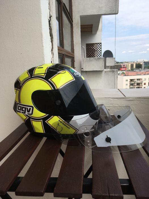 Kask Motocyklowy Agv Gp Pro ML Vr46 Valentino Rossi 3 Szyby Wrocław - image 1