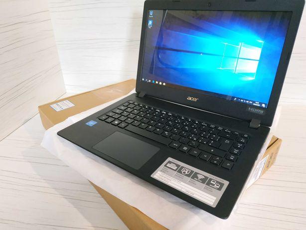 Ноутбук Acer тонкий легкий HD LED 14.1 (N4020, 4 ГБ DDR4, Windows 10)