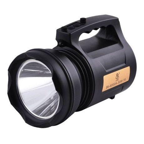 Мощный фонарь прожектор TD-6000A-30W, фонарик переносной со встр. акку