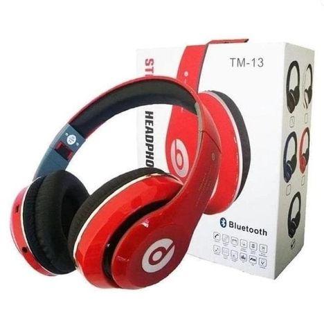 Наушники Беспроводные Bluetooth Monster Beats с Мощным Звуком FM+mp3!