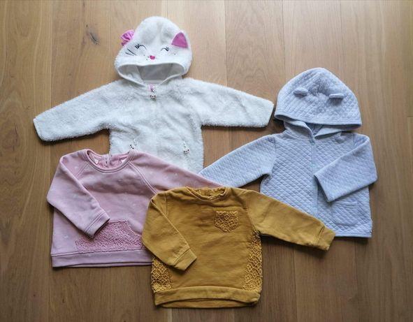 Ubrania rozmiar 68, dla dziewczynki, 37 sztuk
