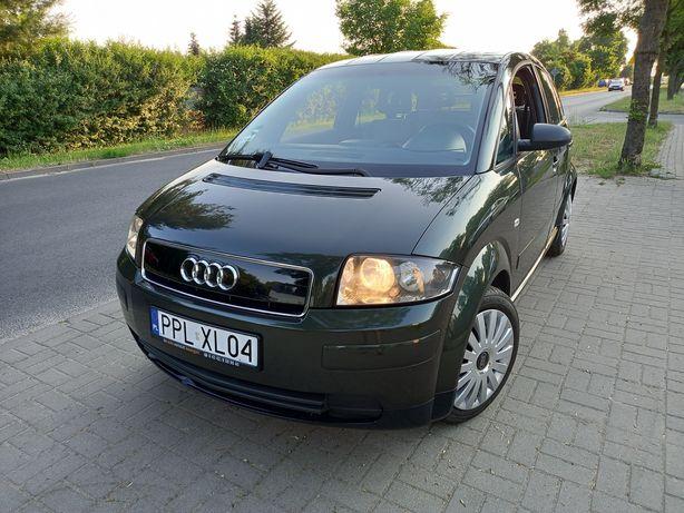 Audi A2 1.4 benzyna Klimatronic z Niemiec Zarejestrowany
