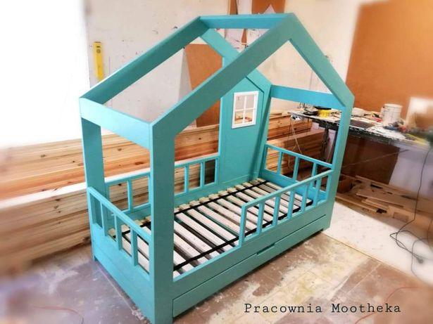 Łóżko dziecięce drewniane Scandic House