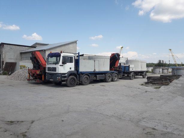 szambo betonowe okrągłe producent transport-wykop-montaz 3-16m³