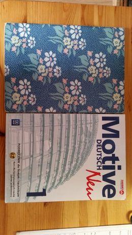 Podręcznik i zeszyt ćwiczeń do niemieckiego - Motive Deutsch Neu 1
