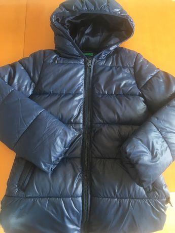 Dziecieca kurtka zimowa Benetton, rozm.130 cm