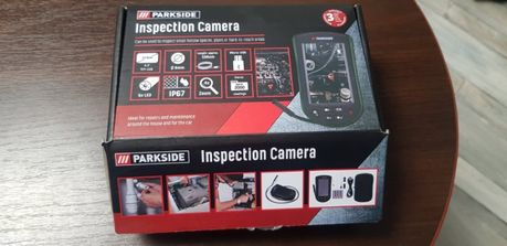 Эндоскоп,Смотровая камера PARKSIDE ПКИК 4.3, с дисплеем- NEW