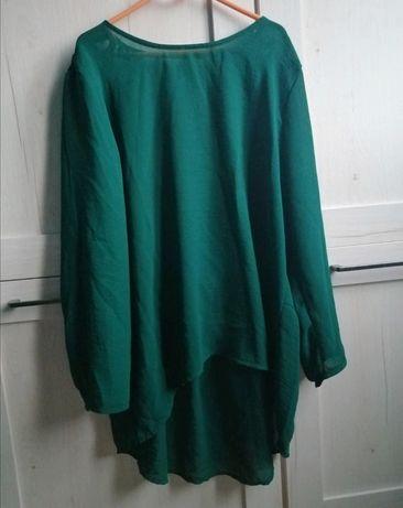 Bluzka zielona damska