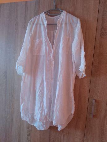 Koszula biała duży rozmiar