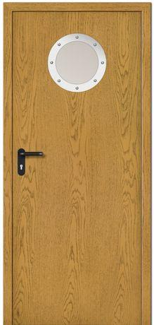 Drzwi wewnętrzne OGNIOODPORNE EI30, EI60 z bulajem
