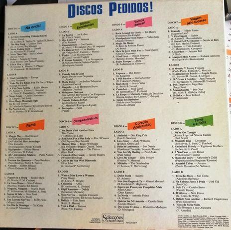 Discos Pedidos 8 Lps (Coleção discos de vinil)