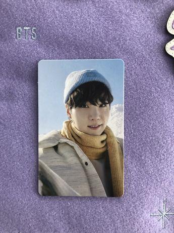 Karta Yoongi Winter Package 2021
