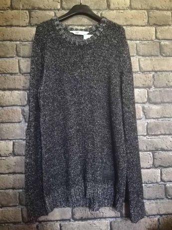 Фирменный вязаный свитер от H&M