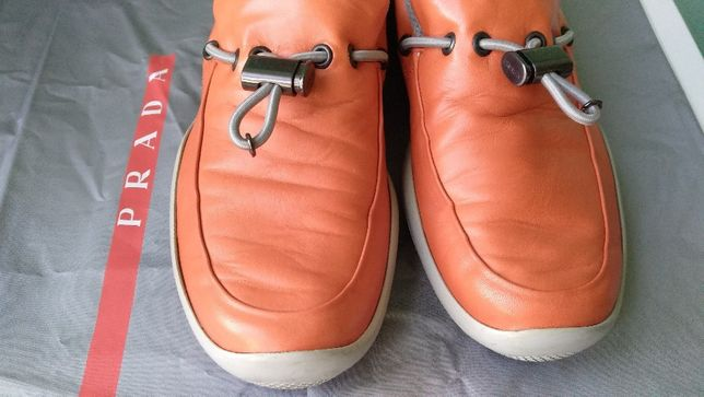 Sapato tênis náutico original PRADA