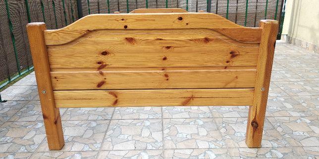 Łóżko drewniane sosnowe dla dziecka