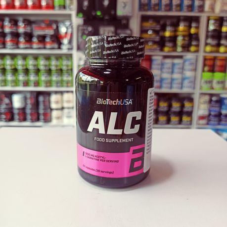 Biotech ALC 60kaps, Acetyl L-Karnityny, Odżywki i Suplementy diety