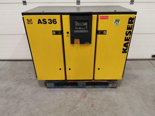 Sprężarka śrubowa 22kw KAESER AS36 kompresor 3500l/min 8BAR