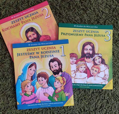 Zeszyt ćw do religii kl 1-3