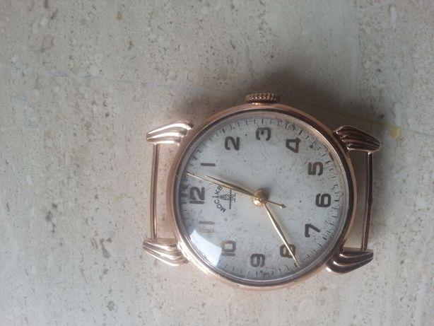 Zegarek złoty Moskwa próby 583