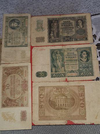 Banknoty stare rok 1940 i 1941