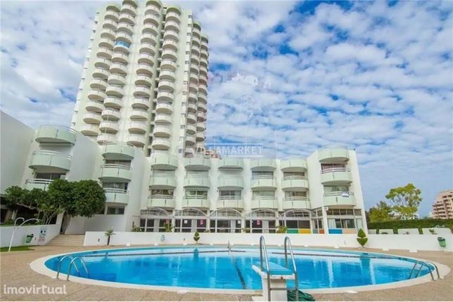 Apartamentp T0 Varanda Vista Mar na Praia dos 3 Castelos de Portimão