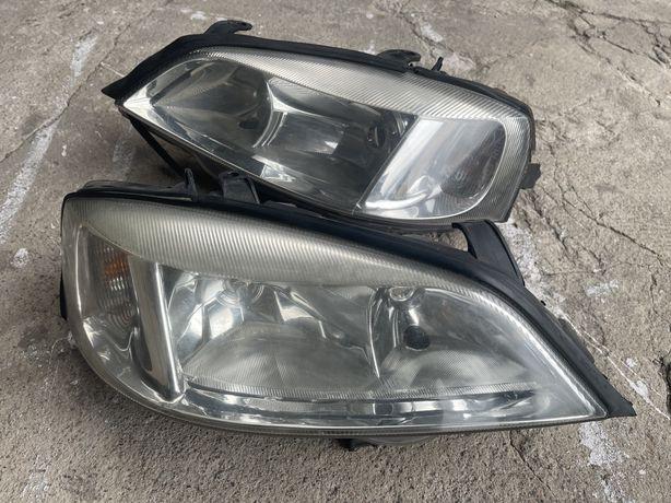 Przednie lampy Opel Astra G 98-09