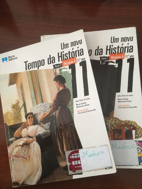 Manual e CA historia 10 e 11ano Um novo tempo da historia