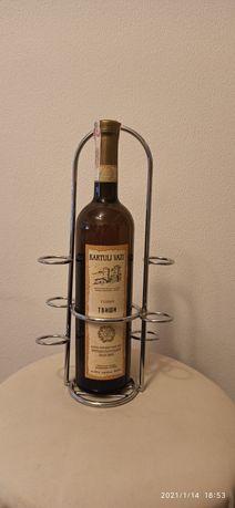 Подставка для бутылки и рюмок